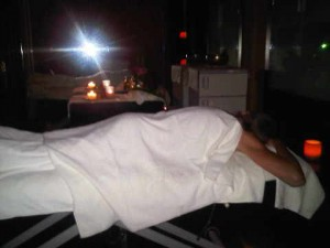 Body in spa, Kempinski Bahia Estepona luxury resort in Spain