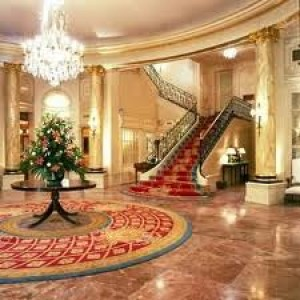 Ritz Madrid's grand staircase