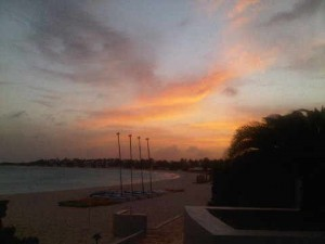 Sunset, Cap Juluca, Anguilla