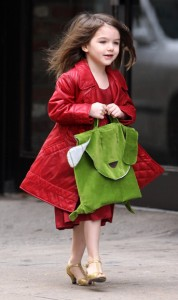 Suri Cruise aged six, going on 60.