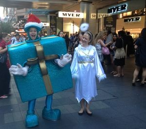 Father Christmas does Tiffany, Sydney