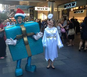 Father Christmas, Sydney style