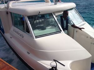 Taj Exotica is only 15 minutes by boat, from Male