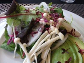 Bistro 51's salad