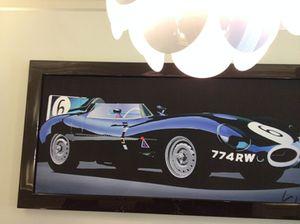 A memorable Jaguar (on a wall…)