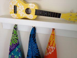 Sarongs and a guitar