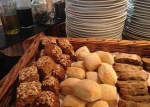 Breads are just one extra to the sensational alkaline buffet