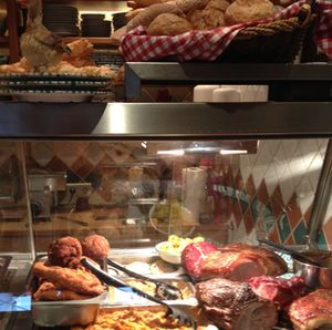 The tavern's integral deli is where you choose your food