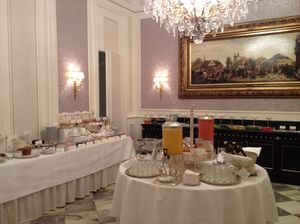 Is this the ultimate elegant breakfast buffet?