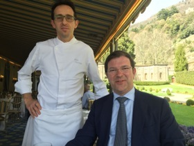 Danilo Zuchetti and chef Michele Zambanini