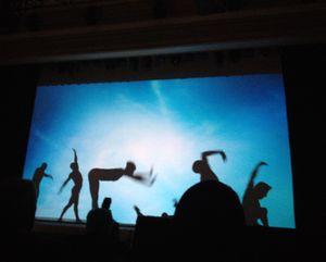 Shadow-dancing finale