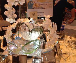 Silverseas' dinner table..
