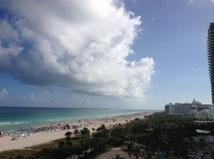 Looking south from W South Beach