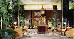 The Waldorf Astoria clock