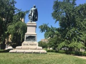 Daniel Webster, in Lafayette Park