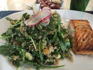 .. and quinoa salad