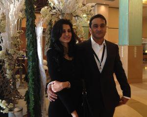 Monisha and Pramod Ramdan
