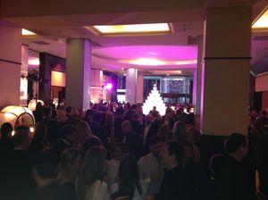 The night before, at the ILTM party