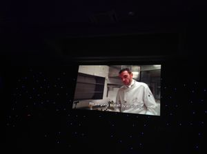 The pastry chef shows, on video, how to prepare…