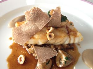 Turbot and truffles