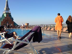 .. next to its fabulous rooftop pool