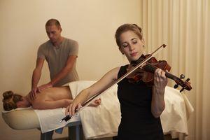 Melody and massage…